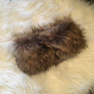 Faux Fur head band